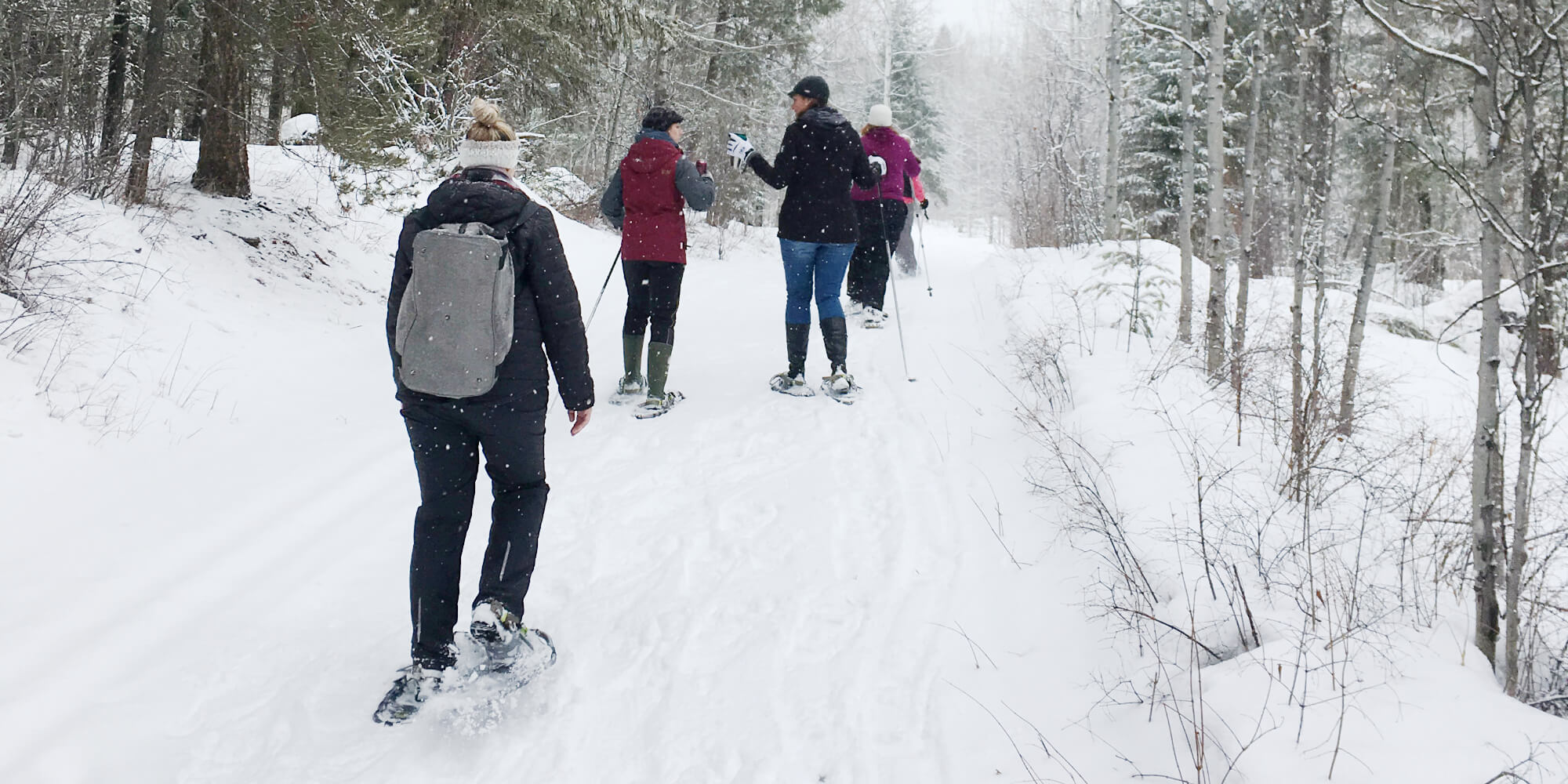 Spruce Hill Snow Shoeing